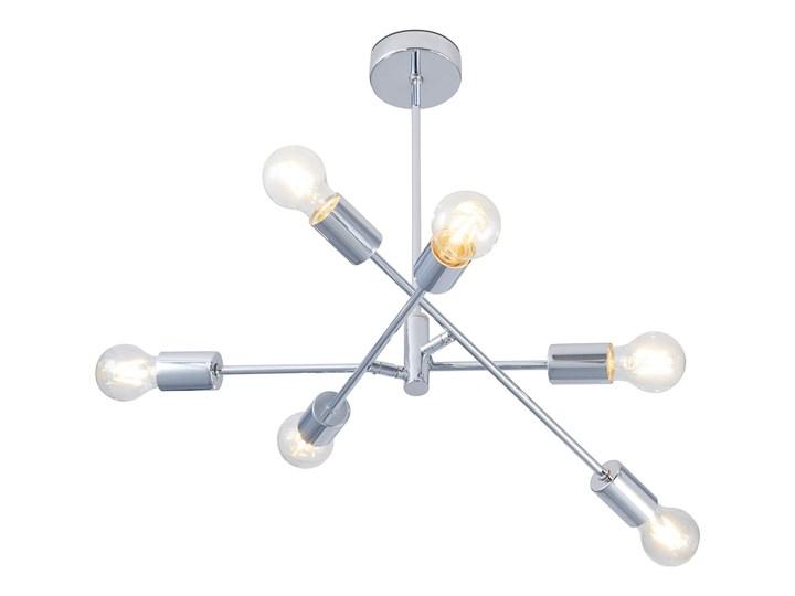 Obi Lighting Lampa Wisząca Pomezia Chrom 6x60 W E27