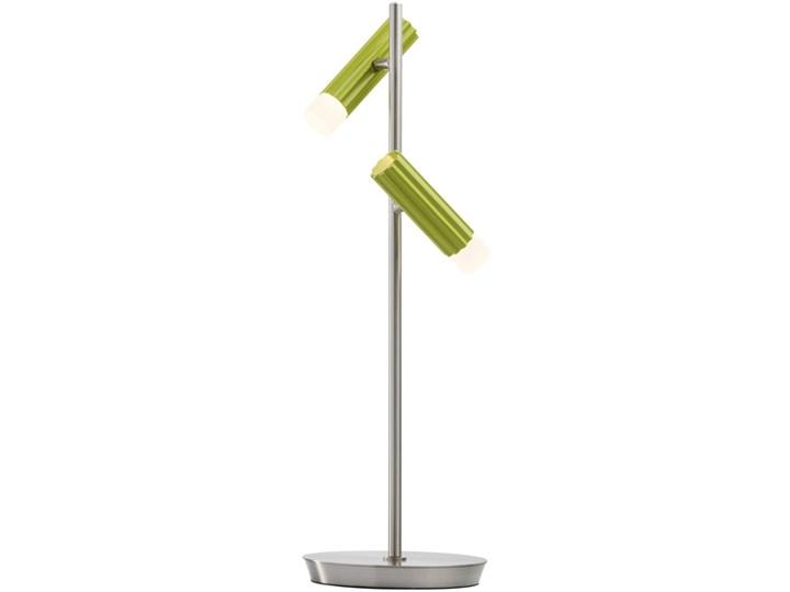 Lampka stołowa LED biało-zielona RegenBogen Techno