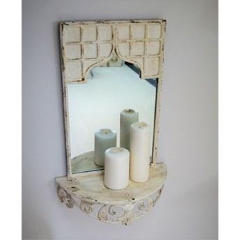 Półka z lustrem