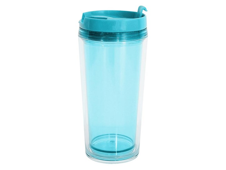 7520e4d0105 Kubek na gorące napoje transparentny (niebieski) Zak! Designs ...