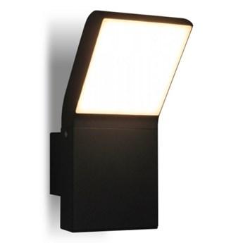 PP K 1504 IP54 KINKIET ZEWNĘTRZNY OGRODOWY LAMPA ŚCIENNA ALUMINIUM GRAFITOWY HERMETYCZNY RAL7016 LED