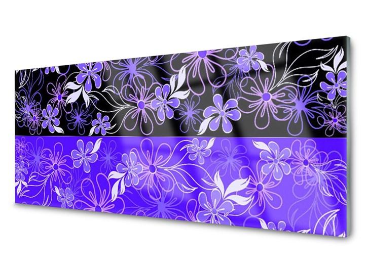 Obraz Szklany Abstrakcja Wzory Kwiaty Art