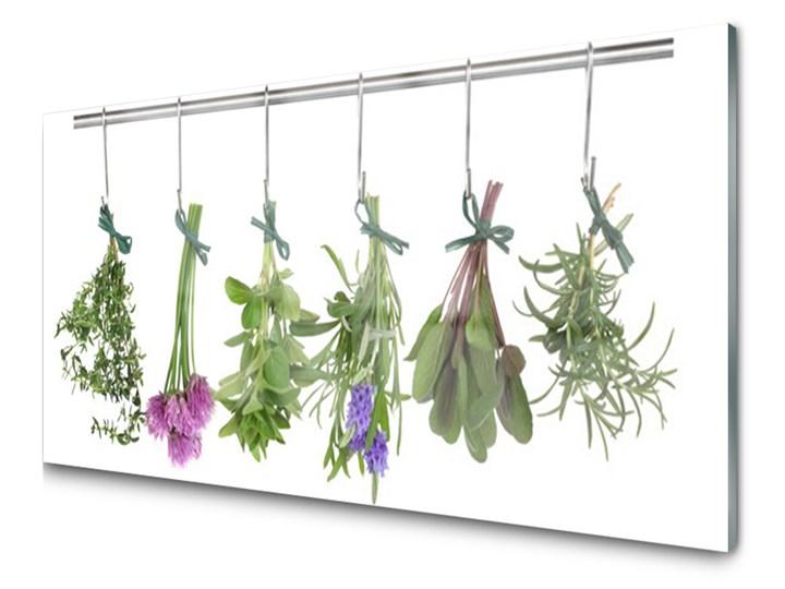 Obraz Szklany Płatki Roślina Kuchnia