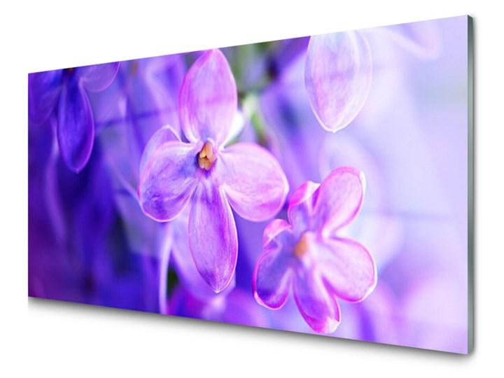 Obraz Akrylowy Kwiaty Fioletowe Natura Obrazy Zdjęcia Pomysły