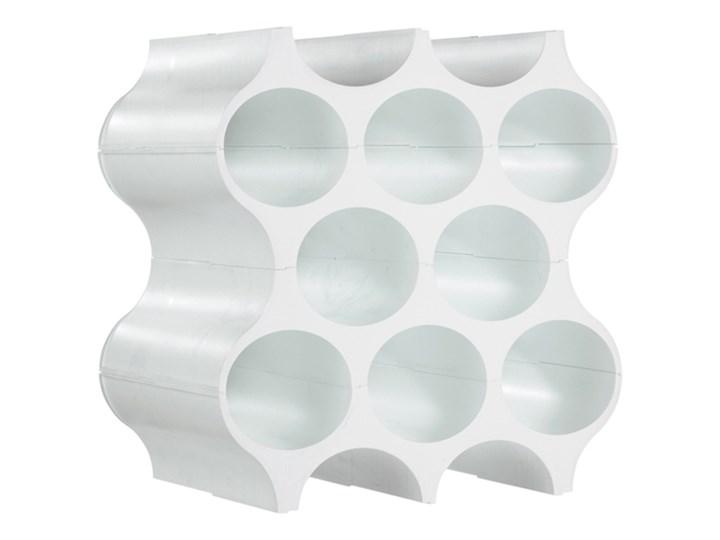 Stojak na butelki Koziol Set-up biały kod: KZ-3596525 Tworzywo sztuczne Półka Kategoria Stojaki na butelki