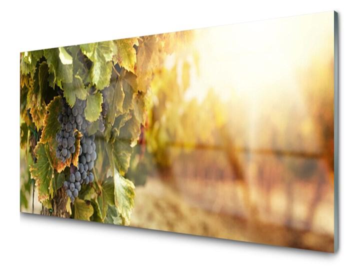 Obraz Szklany Winogrona Liście Kuchnia