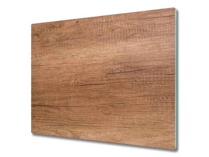 Deska kuchenna Drewniane tło Kategoria Panele ścienne Kolor Brązowy
