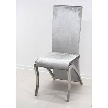 Krzesło Vallerin Glamur Silver