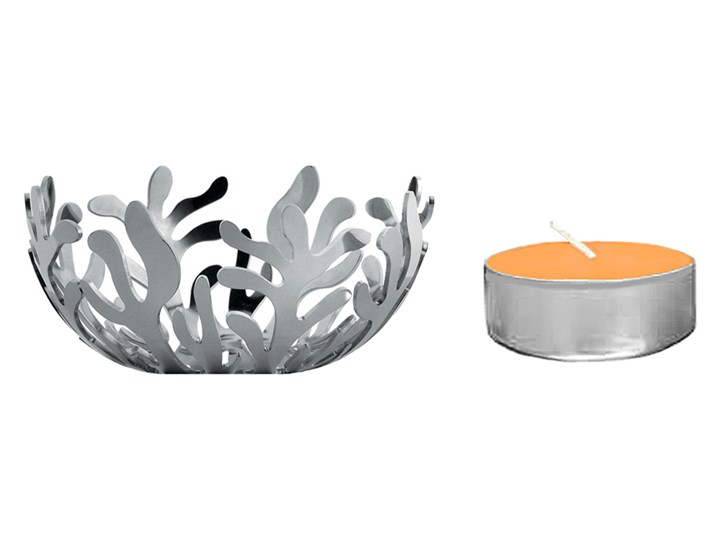 Świecznik Alessi Mediterraneo Silver