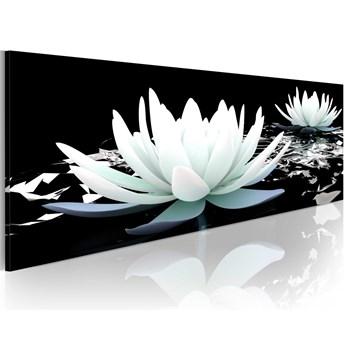 Obraz - Kwiaty - Alabastrowe lilie OBRAZ NA PŁÓTNIE WŁOSKIM
