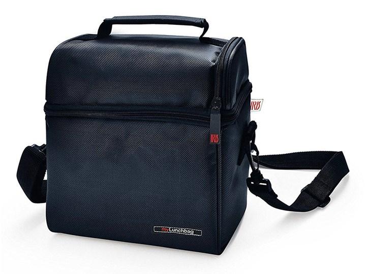 a3a8453cfed5d IRIS OPTIMAL Lunchbag torba termiczna z pojemnikami na żywność, czarna kod:  8411398964096
