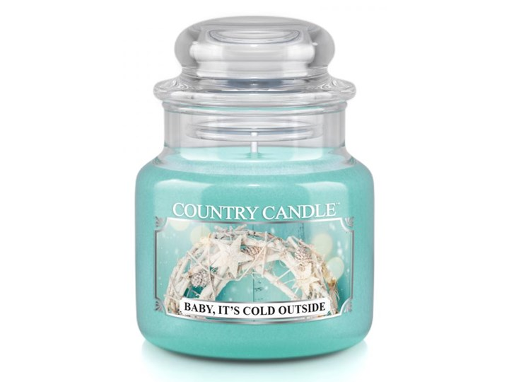 Country Candle - Baby It's Cold Outside - Mały słoik (104g)