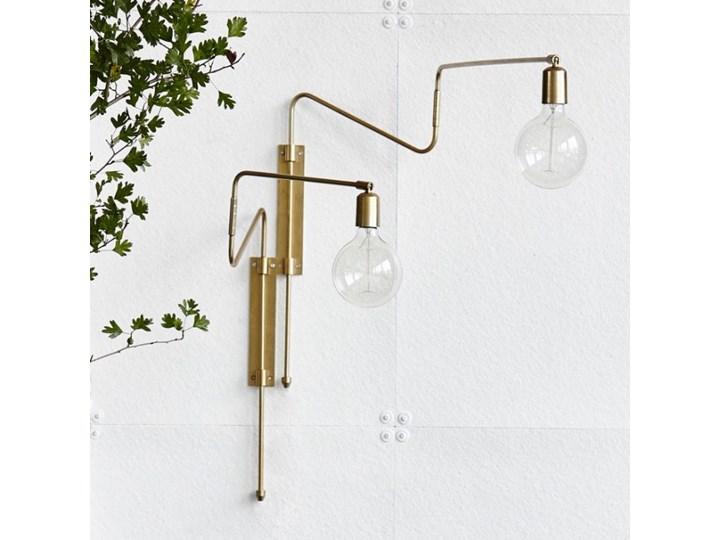 KINKIET LAMPA SCIENNA SWING LONG HOUSE DOCTOR Metal Kinkiet dekoracyjny Styl Skandynawski Kategoria Lampy ścienne