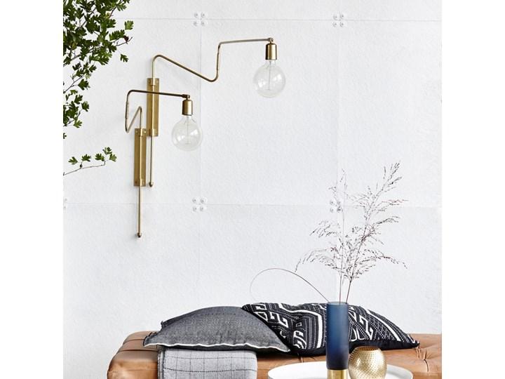 KINKIET LAMPA SCIENNA SWING LONG HOUSE DOCTOR Kinkiet dekoracyjny Metal Kategoria Lampy ścienne  Styl Skandynawski