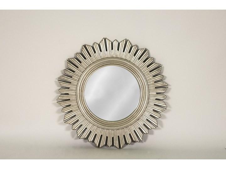 LUSTRO NIKE szampańskie srebro okrągłe FI 61 kolor: srebrny, Materiał: poliuretan, rozmiar ramy: 61/61, rozmiar lustra: 31,5/31,5, EAN: 5903949790467 Kolor Szary