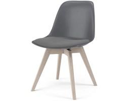 Krzesło Grace Bess szare nogi bielone