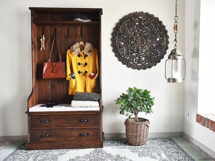 Garderoba sosnowa Rustyk Drewno