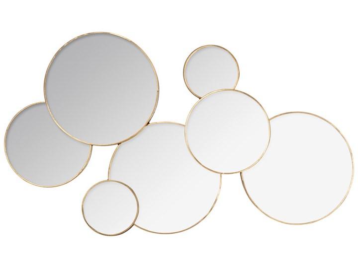 Lustra Okrągłe W Formie Naściennej Kompozycji Dekoracja Ze