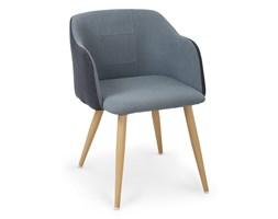 Halmar Krzesło K288 Nowoczesny/Minimalistyczny Kuchnia/Jadalnia/Salon/Biuro granatowy / niebieski