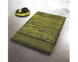 Kleine Wolke Relief Green dywanik łazienkowy pod wc, zielony 55 x 55 cm