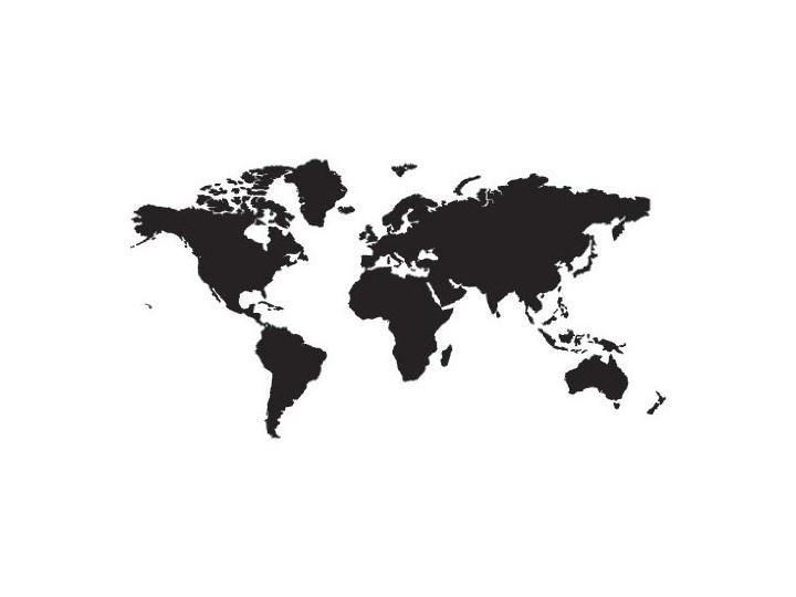 Tatuaż Na Okno No 191 Mapa świata Geografii Mapa świata Kontynentów Ziemi Land Globus Dekoracja Na Szkło Folia Samoprzylepna Folia Ze Szkła