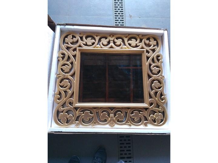 LUSTRO ARIADNA złota rama prostokąt 90X100 kolor: złoty, Materiał: poliuretan, rozmiar ramy: 90/100, rozmiar lustra: 51/62, EAN: 5903949790481 Lustro z ramą Styl Glamour