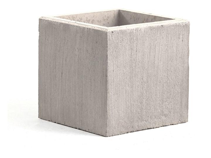 Donica betonowa, 600x600 mm, szary