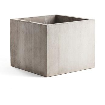 Donica betonowa, 1000x1000, szary