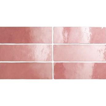 Artisan Mallow 6,5x20 różowe kafelki