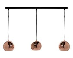 lampa miedziana kula pomysły, inspiracje z homebook