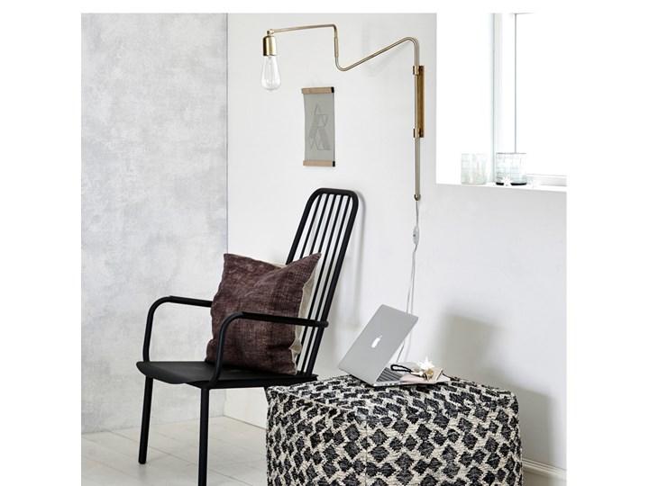 KINKIET LAMPA SCIENNA SWING LONG HOUSE DOCTOR Kinkiet dekoracyjny Metal Styl Skandynawski