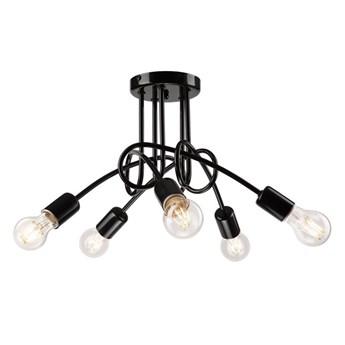 RUBY lampa wisząca 6-punktowa czarna