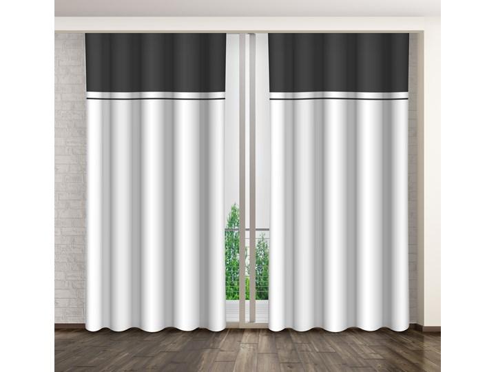 Zasłona dekoracyjna  ZMH-01 Mariall Poliester Pomieszczenie Pokój nastolatka Zasłona zaciemniająca Kolor Biały
