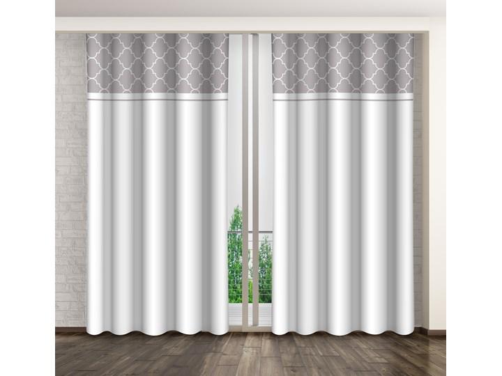 Zasłona dekoracyjna  ZMH-07 Mariall Zasłona zaciemniająca 160x250 cm Poliester Kategoria Zasłony
