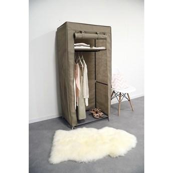 Beżowa szafa tekstylna Compactor Wardrobe, wys. 147 cm