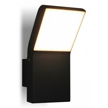 LM K 1504 IP54 KINKIET ZEWNĘTRZNY OGRODOWY LAMPA ŚCIENNA ALUMINIUM GRAFITOWY HERMETYCZNY RAL7016 LED