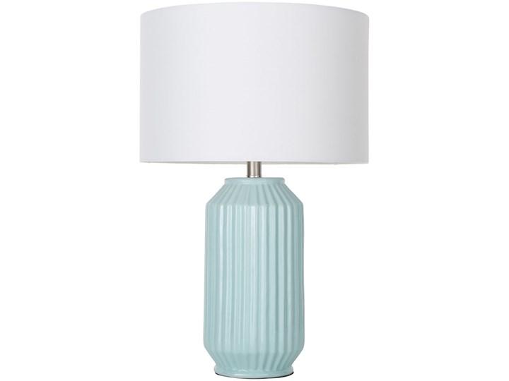 Poważne 2x lampa turkusowa stołowa nocna komplet dwóch lamp - Lampy XL93