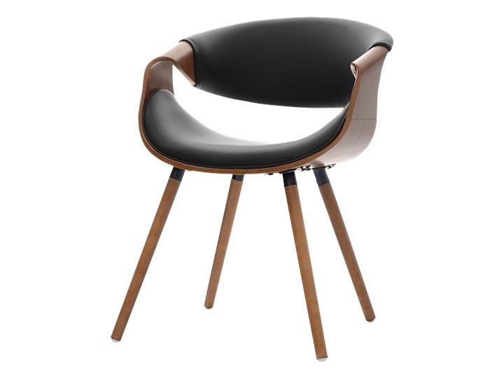 Krzeslo Bent Orzech Czarny Krzesla Kuchenne Zdjecia Pomysly