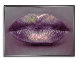 Plakat Usta Holograficzny