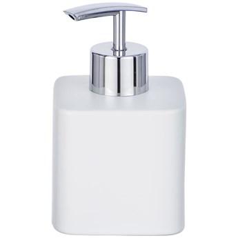 Pojemnik z pompką na płynne mydło, klasyczny dozownik ceramiczny HEXA - 290 ml, WENKO