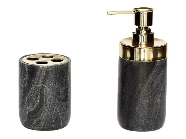 Komplet dozownika do mydła i kubka na szczoteczki Hübsch Mare