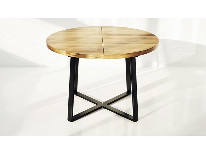 Aktualne Okrągły stół dębowy rozkładany ST9 - Stoły kuchenne - zdjęcia UK57