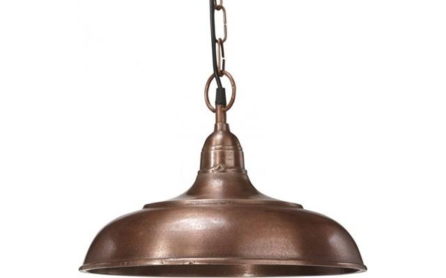 Wisząca lampa vintage Philadelphia miedziana PR Home