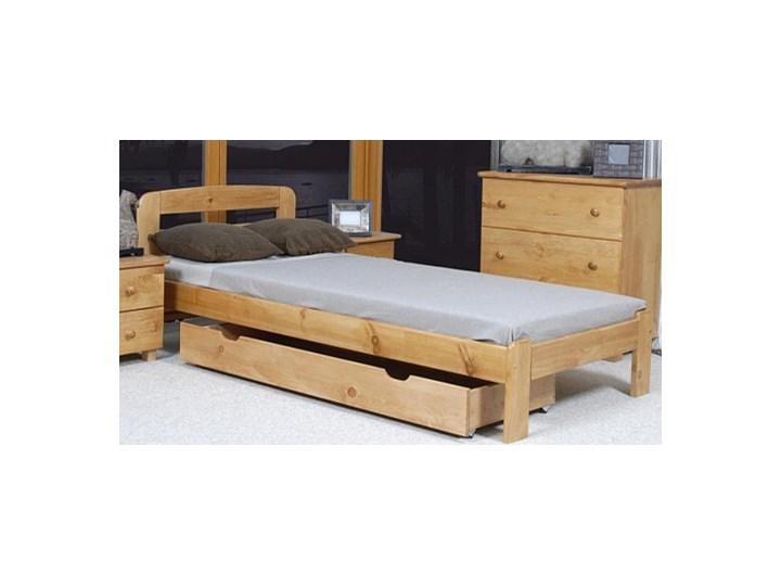 łóżko Sara 90x200 Z Materacem Kieszeniowym łóżka Młodzieżowe