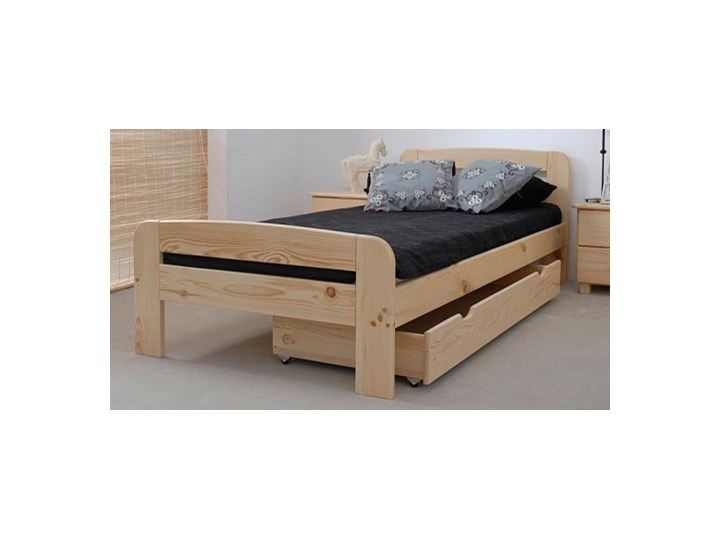 łóżko Drewniane Klaudia 90x200 Z Materacem Kieszeniowym łóżka