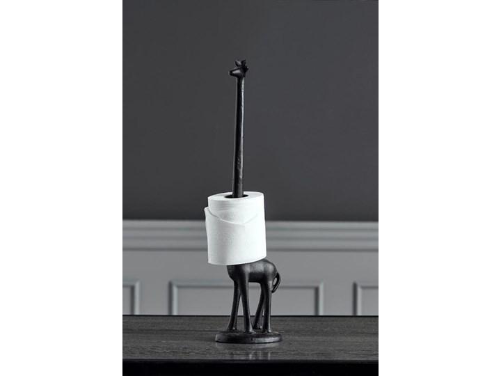 FIGURA GIRAF IRON NORDAL wys. 46 cm Kategoria Figury i rzeźby Zwierzęta Kolor Czarny