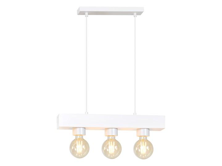 DOROS 3 WHITE 217/3 nowoczesna lampa wisząca biała regulowana Kolor Biały Metal Lampa LED Kategoria Lampy wiszące