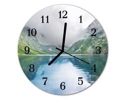 Zegar ścienny okrągły Jezioro górskie
