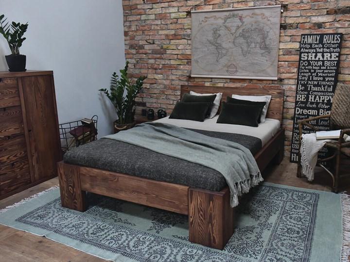 Łóżko Drewniane Sosnowe Marika II - 140 Kategoria Łóżka do sypialni Pojemnik na pościel Bez pojemnika