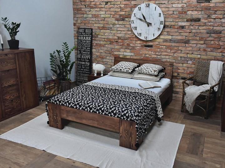 Łóżko Drewniane Sosnowe Marika II - 140 Kategoria Łóżka do sypialni